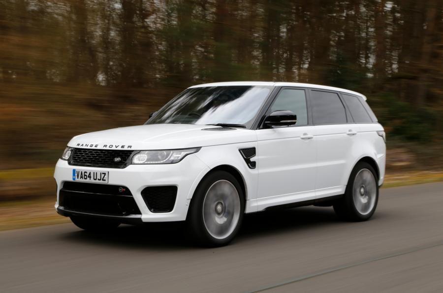 Range Rover Sport SVR Review Autocar Range rover sport