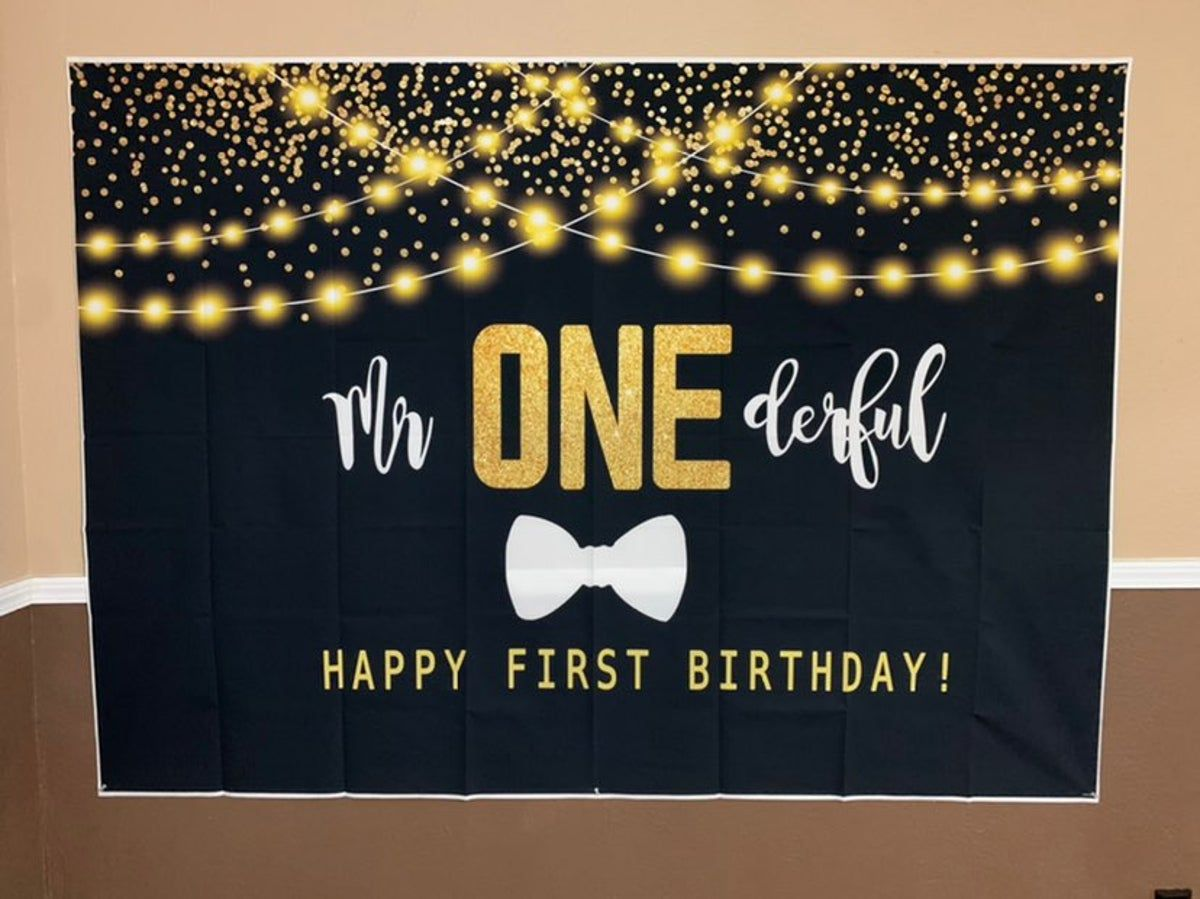 Mr onederful mr onederful birthday decorations baby first birthday banner first birthday banner boy first birthday banner