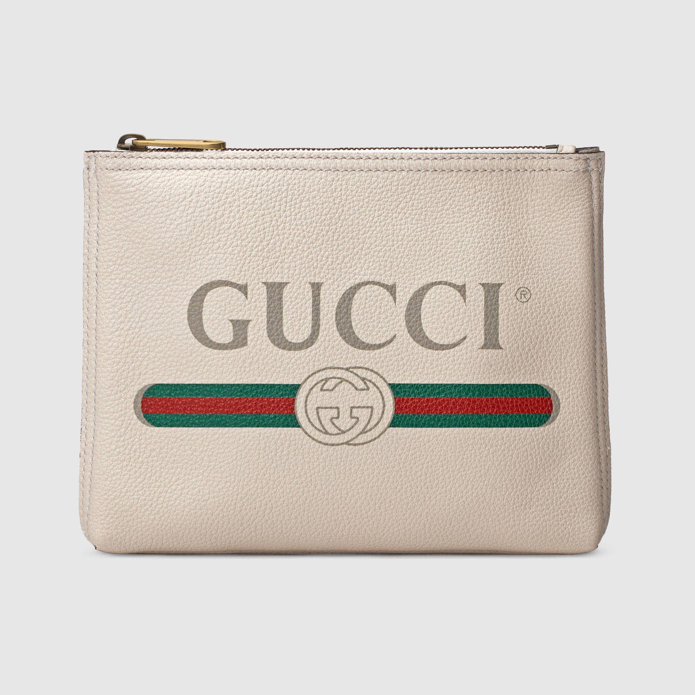 f0706427fe Gucci - Print leather small portfolio | Accessories | Gucci handbags ...