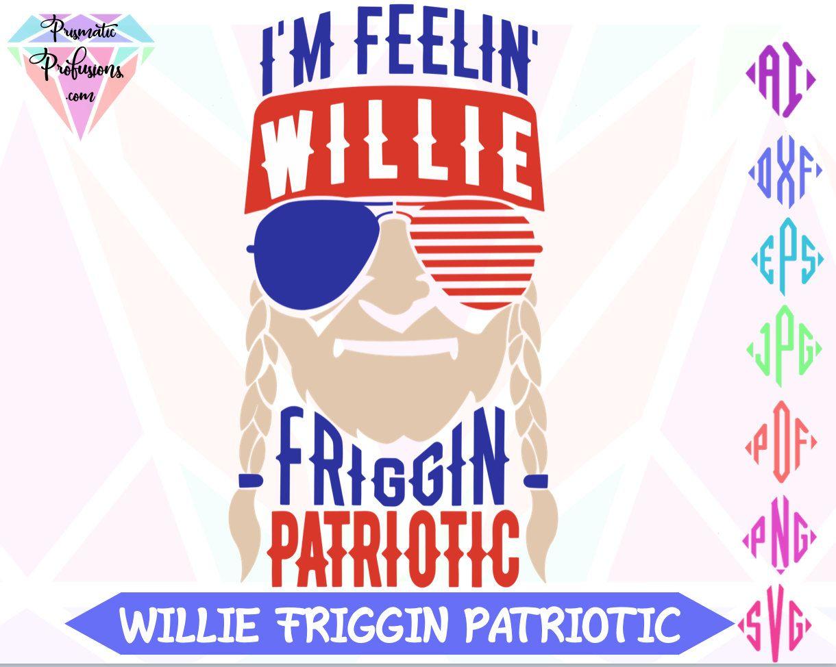 Download July 4th SVG, Willie Nelson SVG, SVG, Clip Art, Birthday ...