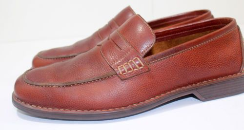 Rockport Mens Penny Loafer Leather Shoe Kinetic Air Circulator Slip On  #RalphBakerShoes #Rockport http