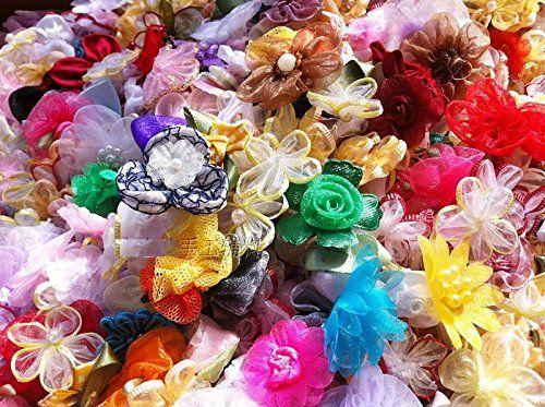 200pcs diy embellish silk flowers lot for hair dress decor corsage 200pcs diy embellish silk flowers lot for hair dress decor corsage baby kids mightylinksfo