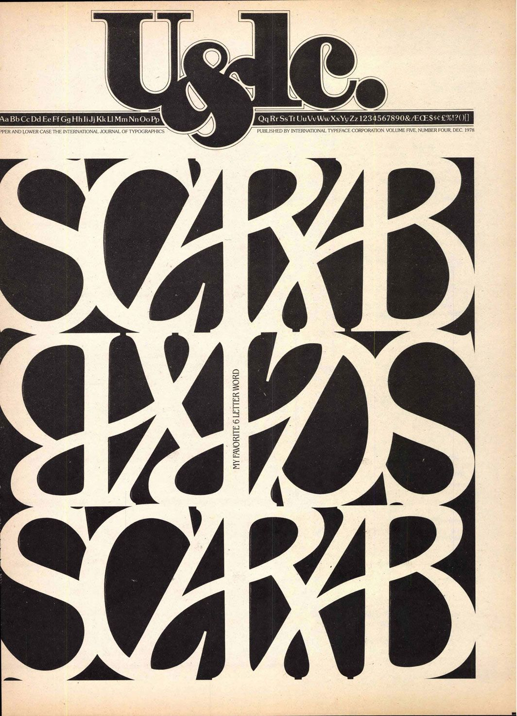 Graphic design poster 101 - Design History 101 Herb Lubalin S U Lc The First Magazine For Typeface Lovers Aiga