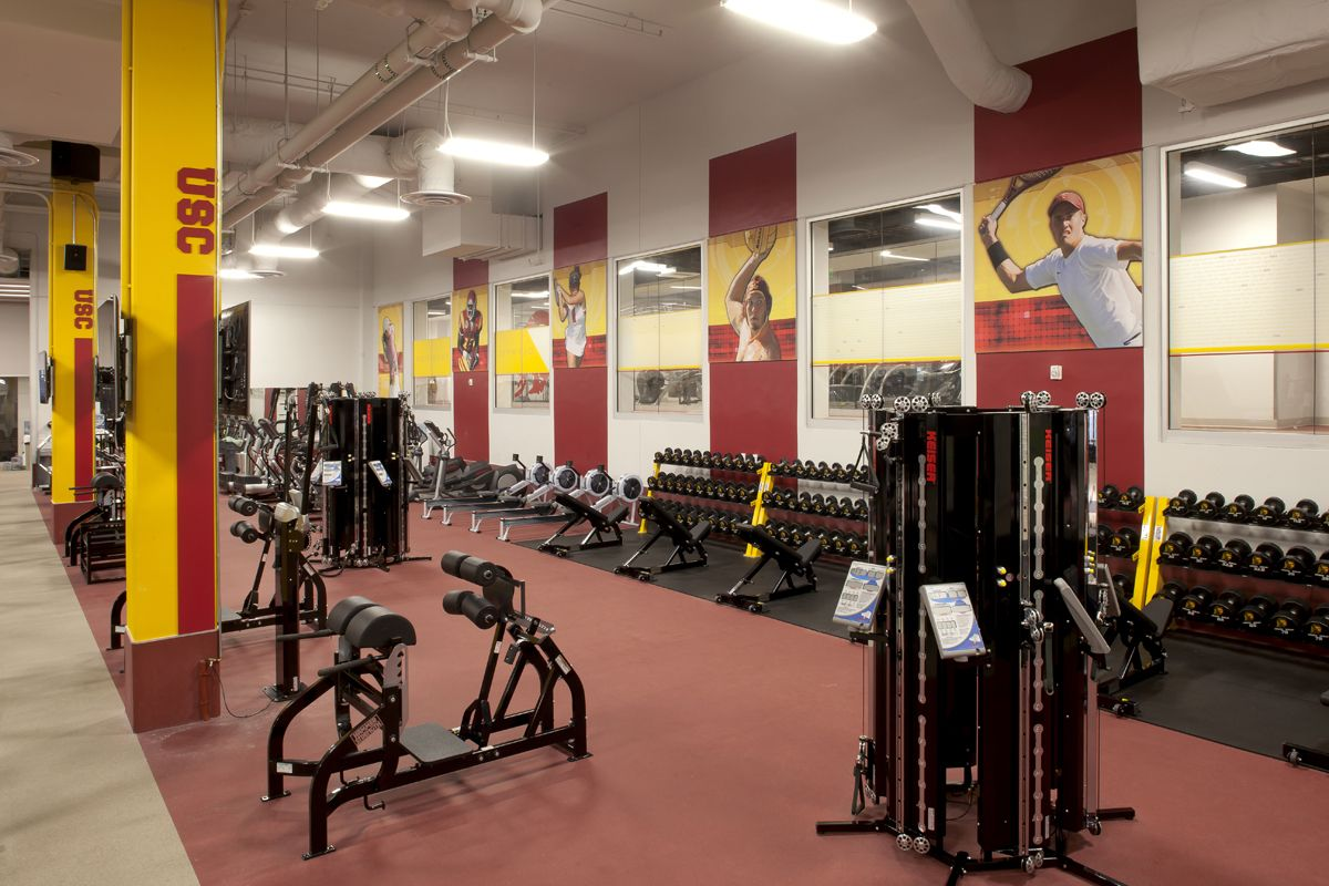 Trojan Weight Room The John Mckay Center At Usc Advent Nashville Tn University Of Southern California Athletic Center Usc