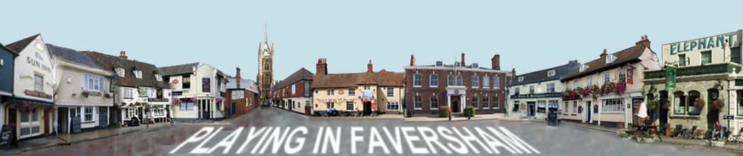 Venues / pubs that regularly have live music in and around the town of Faversham