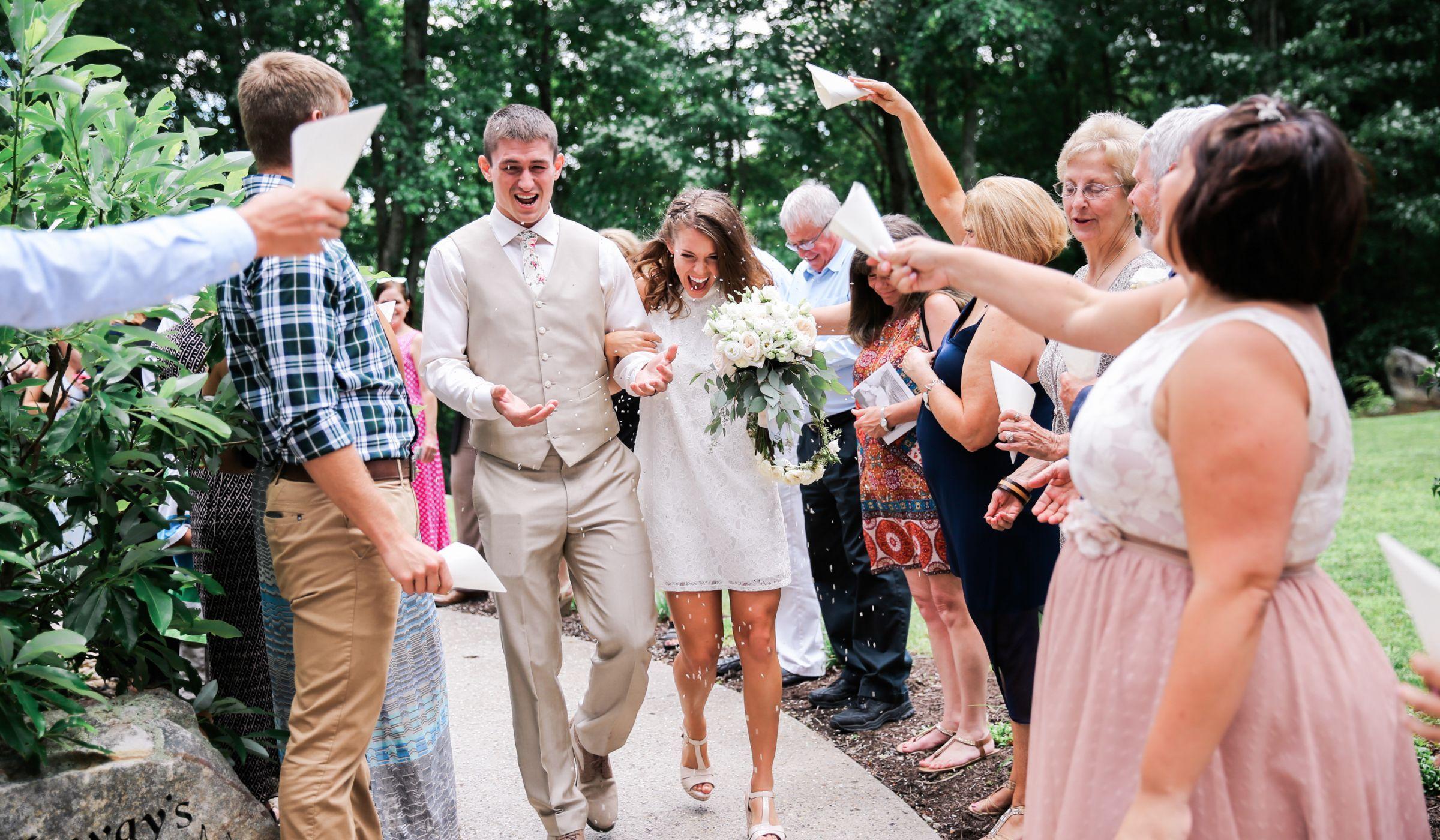 10 Creative Wedding SendOff Ideas That Aren't Sparklers