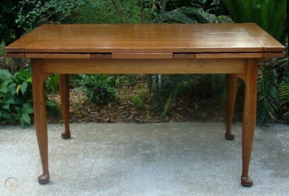 American L J G Stickley Cherry Draw Top Dining Table 41917260
