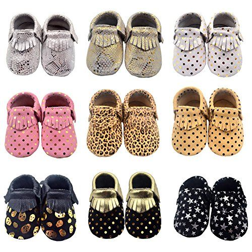 Ievolve Baby Shoes Tassel Baby Moccasins Toddler Soft Leather Sole Prewalker First Walking Crib Shoes 612 Monthsconf Leather Baby Shoes Crib Shoes Walker Shoes