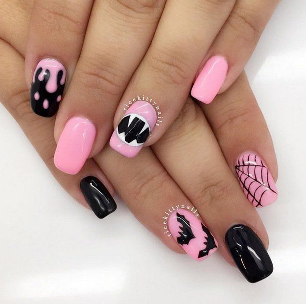 Top 10 Halloween Nail Art Ideas | Nail art, Nail art designs and Shops