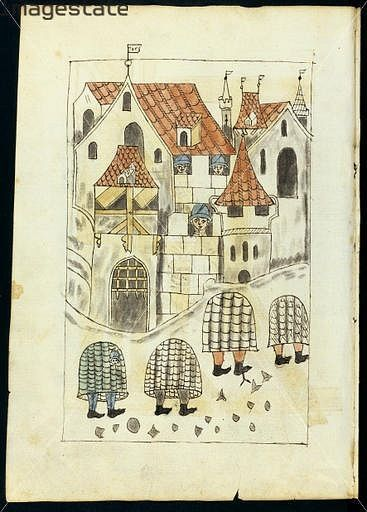 Firework book, Ms I.34 Germany 1450