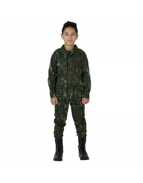 16795957c3 Na Use Militar você compra Farda Infantil Camuflado Fuzileiros Navais de  ótima qualidade. Confira nossas