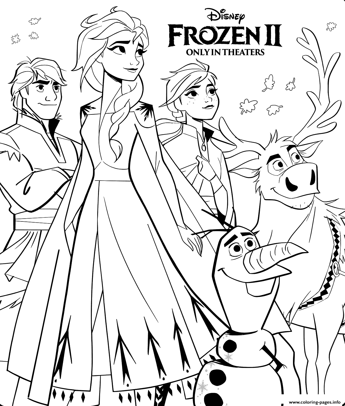 Print Disney Frozen 2 Coloring Pages Cute Coloring Pages Birthday Coloring Pages Disney Princess Coloring Pages