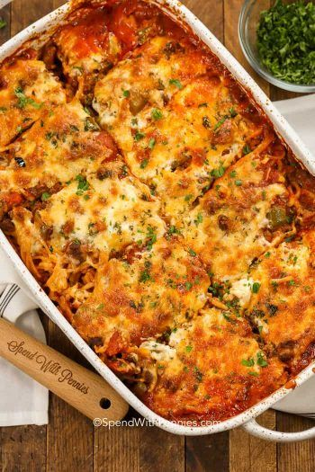 Photo of Spaghetti Squash Casserole – Spend With Pennies