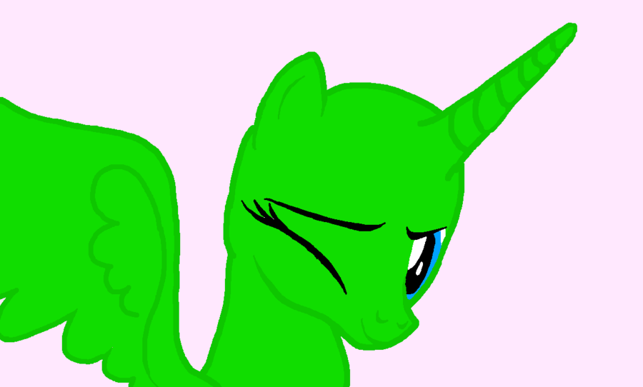 Mlp Base Alicorn Wink Mlp Base Mlp My Little Pony Mlp