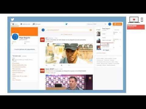 Privacidad y seguridad en Twitter - YouTube