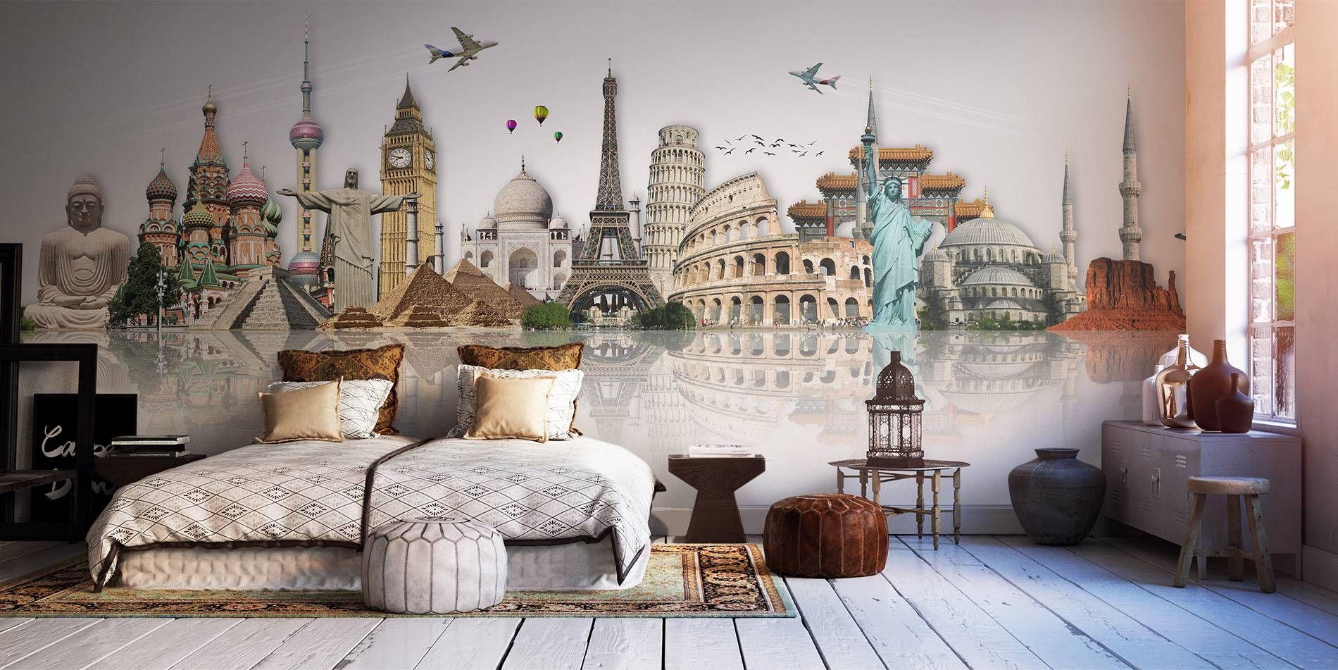 Sogni di un viaggiatore • Contemporaneo - Per camera da letto ...