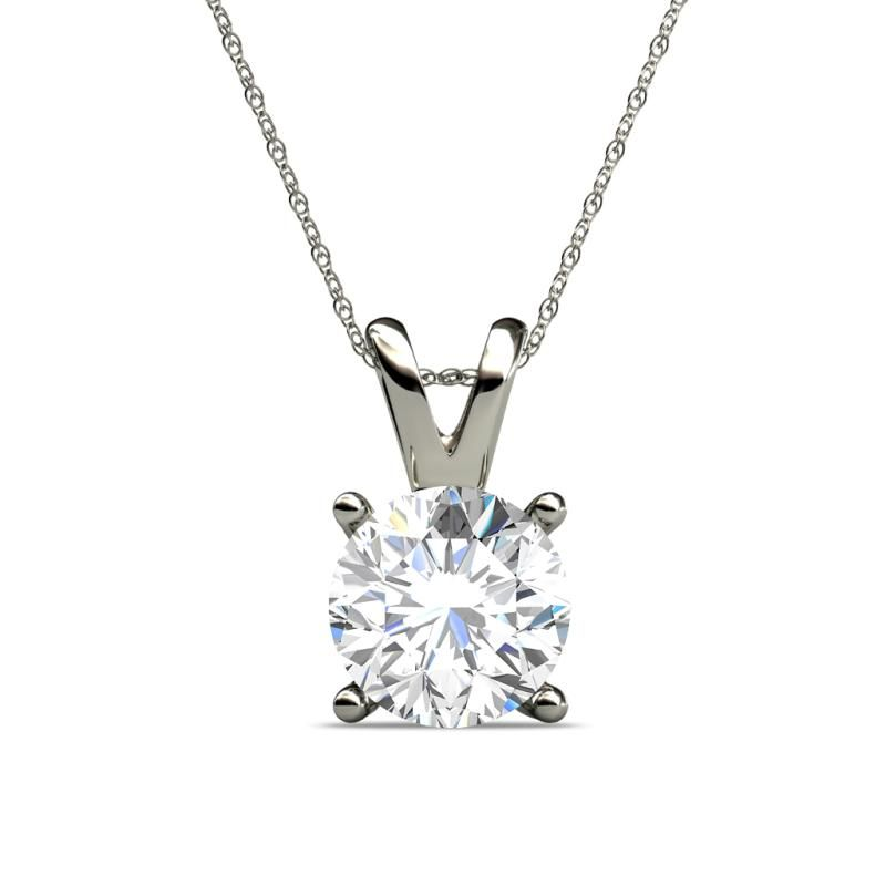 Create Solitaire Necklaces.............. - Free Shipping  - 30 Days Return - Lifetime Warranty #diamond #Necklace #pendant #Love #Gift #Personalized #solitaire #trijewels
