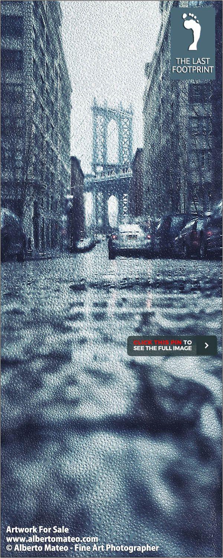 u201cNEW YORK THROUGH THE RAIN Series ARTWORK