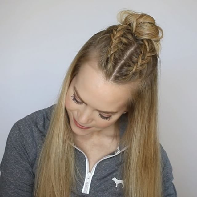 3 Sporty Hairstyles Missy Sue Sporty Hairstyles Braids For Short Hair Bun Hairstyles