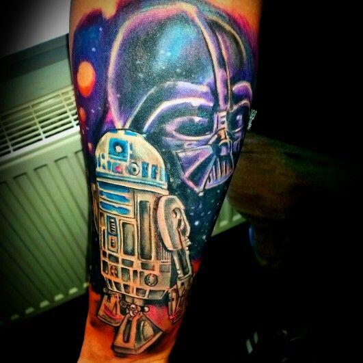 #tattoo #tattoos #ink #inked #anchor #ancora #old school #lifestyle #johnpipporeremi #instaink #instagram #pinterest #lefthandtattoos #Rheinberg #skinwork #art #kunst #arte #johnpipporeremi #tattoogermany #tattoodeutschland #nrw #starwars #darthvader #galaxy #