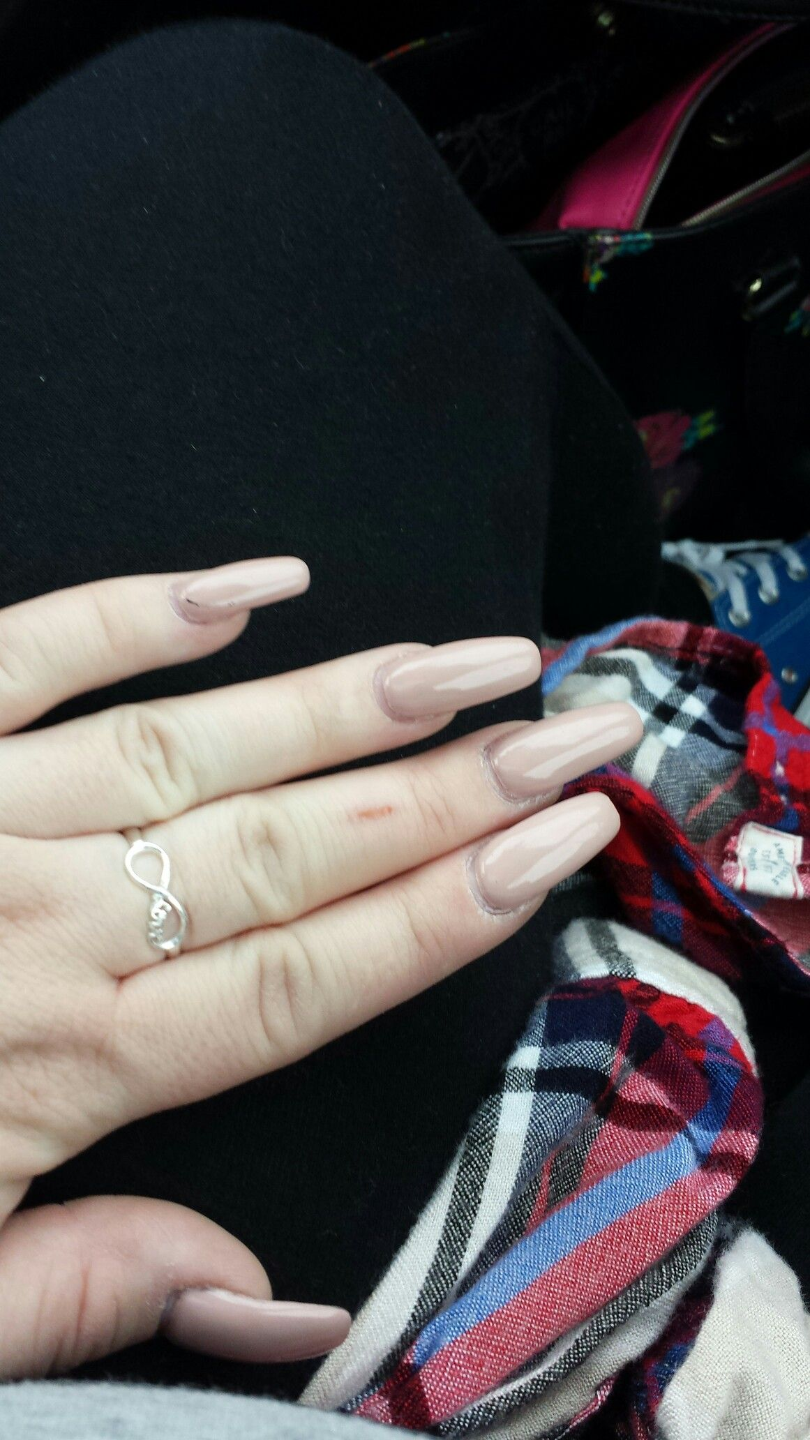 Nude nails my nails pinterest nude nails