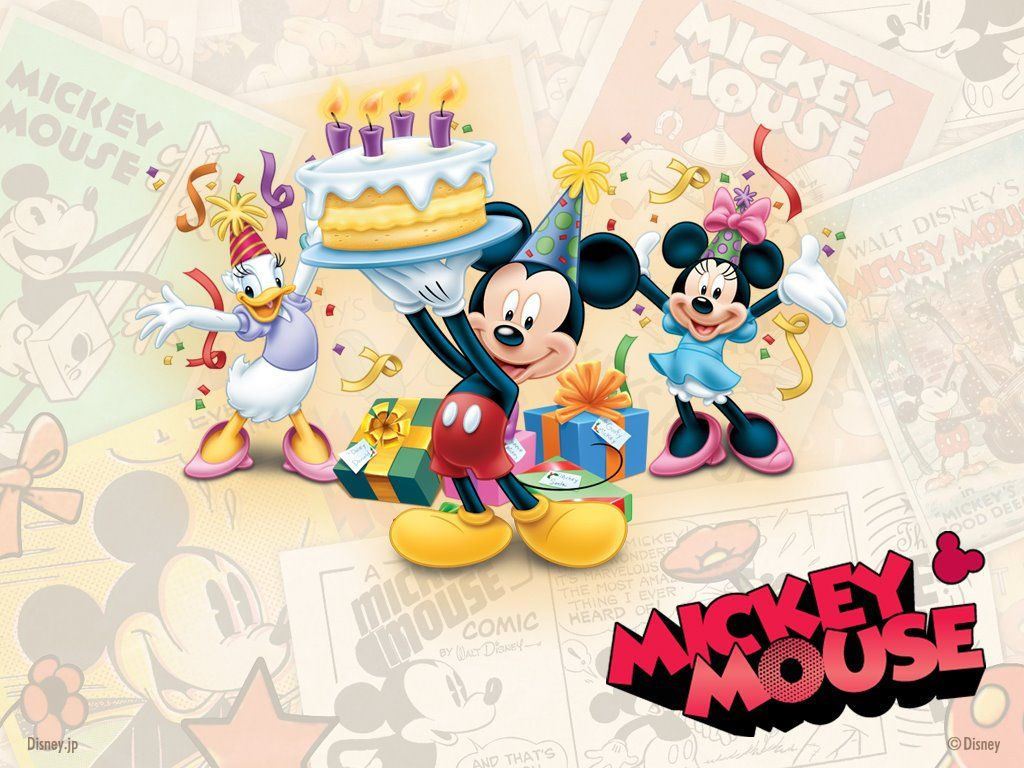 Wallpaper Of Mickey Mouse And Friends
