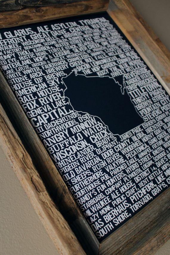 15++ Wisconsin craft breweries map info