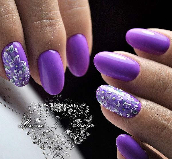 64 Trendy Purple Nail Art Designs And Ideas You Have To Try In