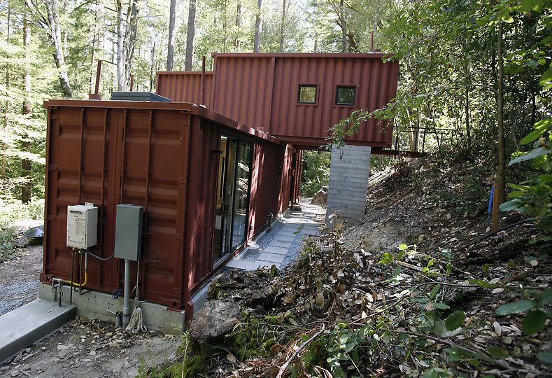 Shipping Container Homes Modulus Six Oaks Santa Cruz
