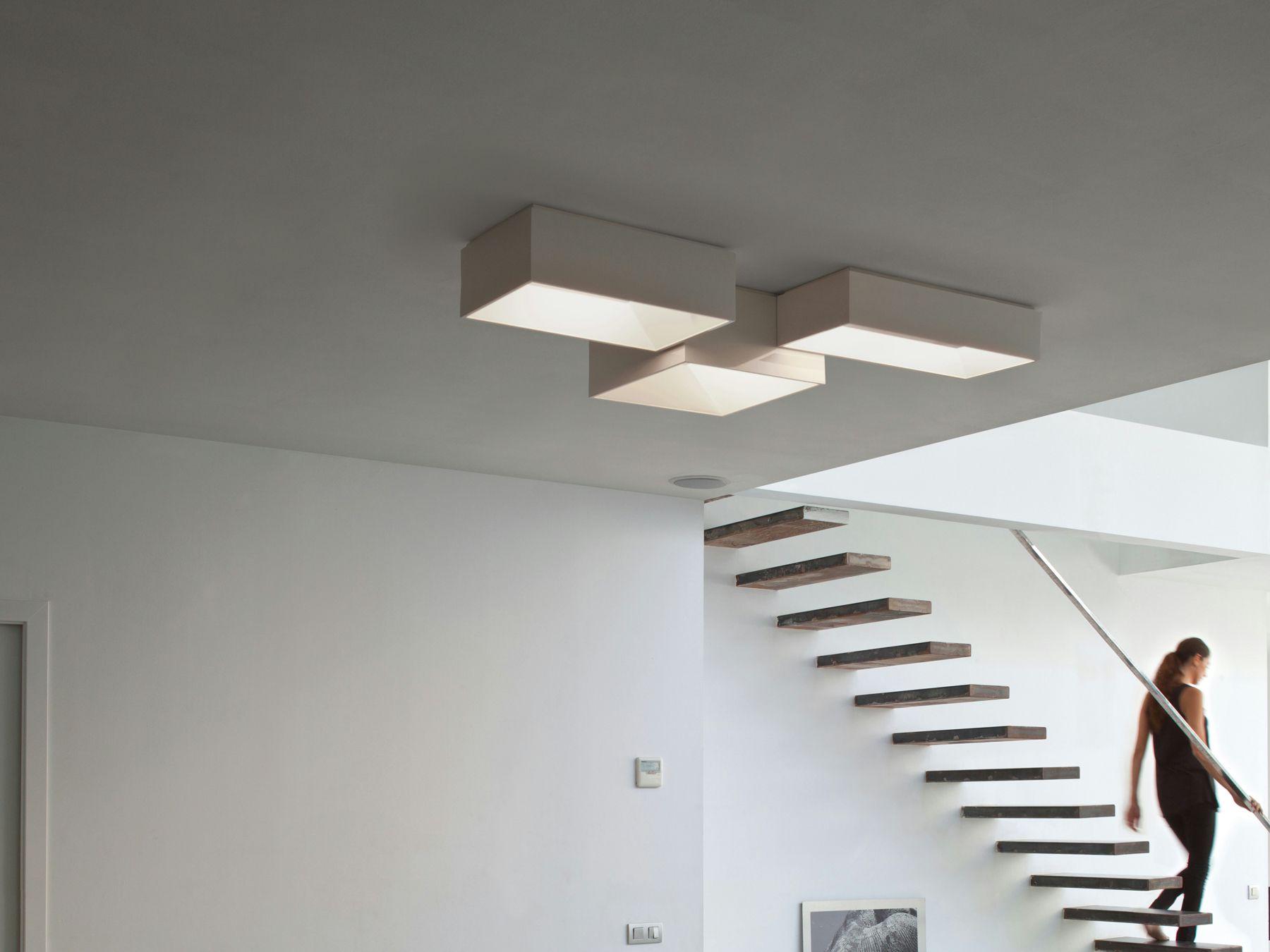 Plafoniere Led Per Scale Condominiali : Link lighting ceiling lamp e led