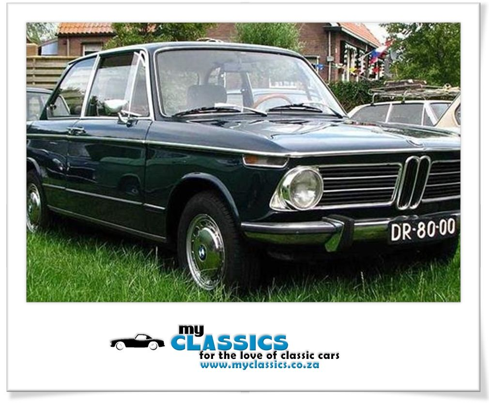 1972 BMW 2002 classic car South African Bmw 2002, Bmw