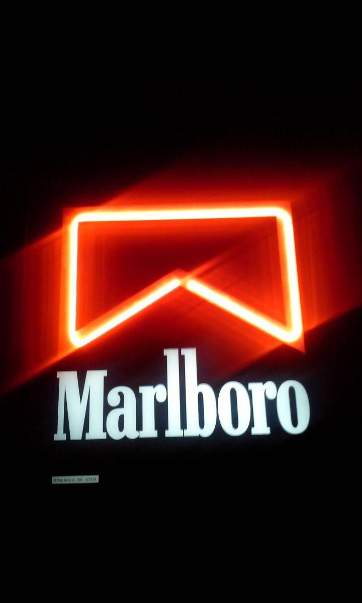 Cartel Marlboro Luminoso Neon 2 990 00 Fondo De Pantalla Para Telefonos Fondos De Pantalla Nike Fondos Cigarros