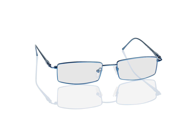 Leichte Vollrandbrille Hamina aus Metall und Aluminium, für den Alltag