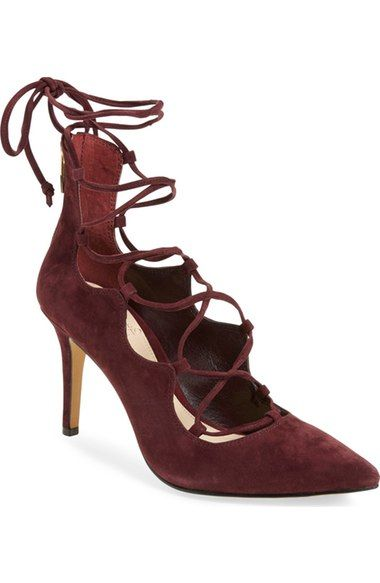 93bdc5ef43f Vince Camuto  Barsha  Lace-up Pump (Women) (Nordstrom Exclusive) available  at  Nordstrom