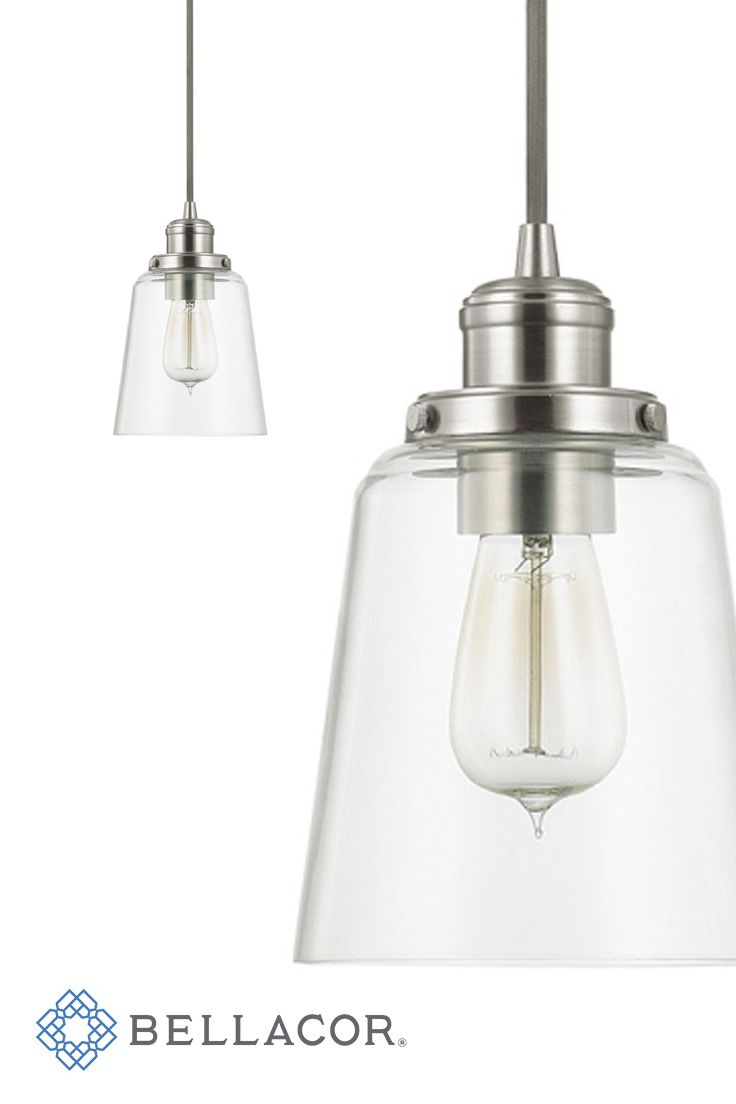 Capital Lighting Fixture Company Brushed Nickel One-Light Mini ...