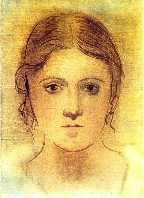 Pablo Picasso - Portrait of Olga