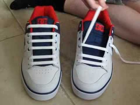 19) How To Bar Lace Shoes with No Bow
