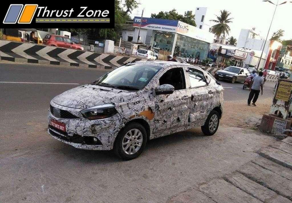 Tata Kite 5 compact sedan spied in Tamil Nadu Auto news