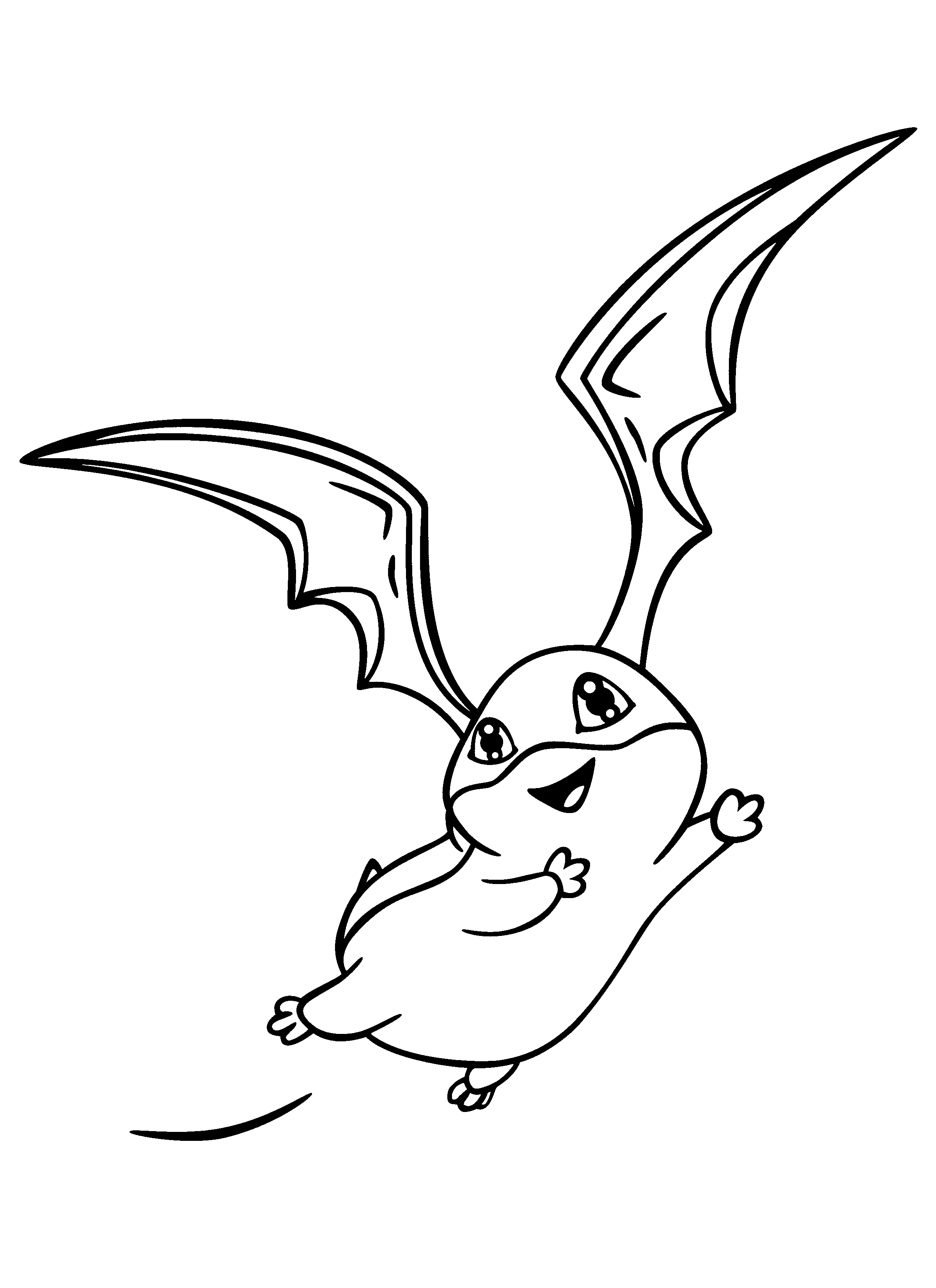 Free Digimon Coloring Page Pages 176 Printable