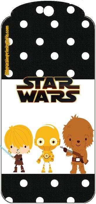 Star Wars Bebés: Mini Kit para Imprimir Gratis.   POKEMON ...