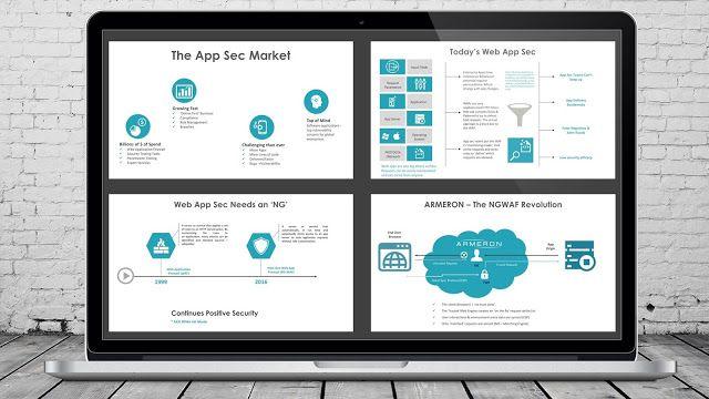 Minimalistic Flat Design Investor Pitch Deck PowerPoint - business presentation