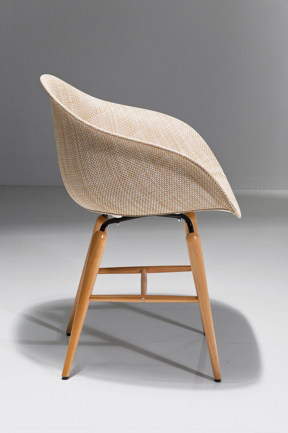 Wooden easy chair designs - Pvc Easy Chair With Armrests Forum Wood Natural Kare Design