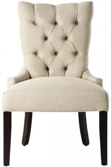 Custom Tufted Back Dining Chair