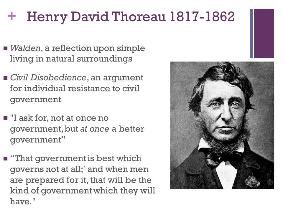 003 Tuesday, April 5 Short notes on Transcendentalism Overview