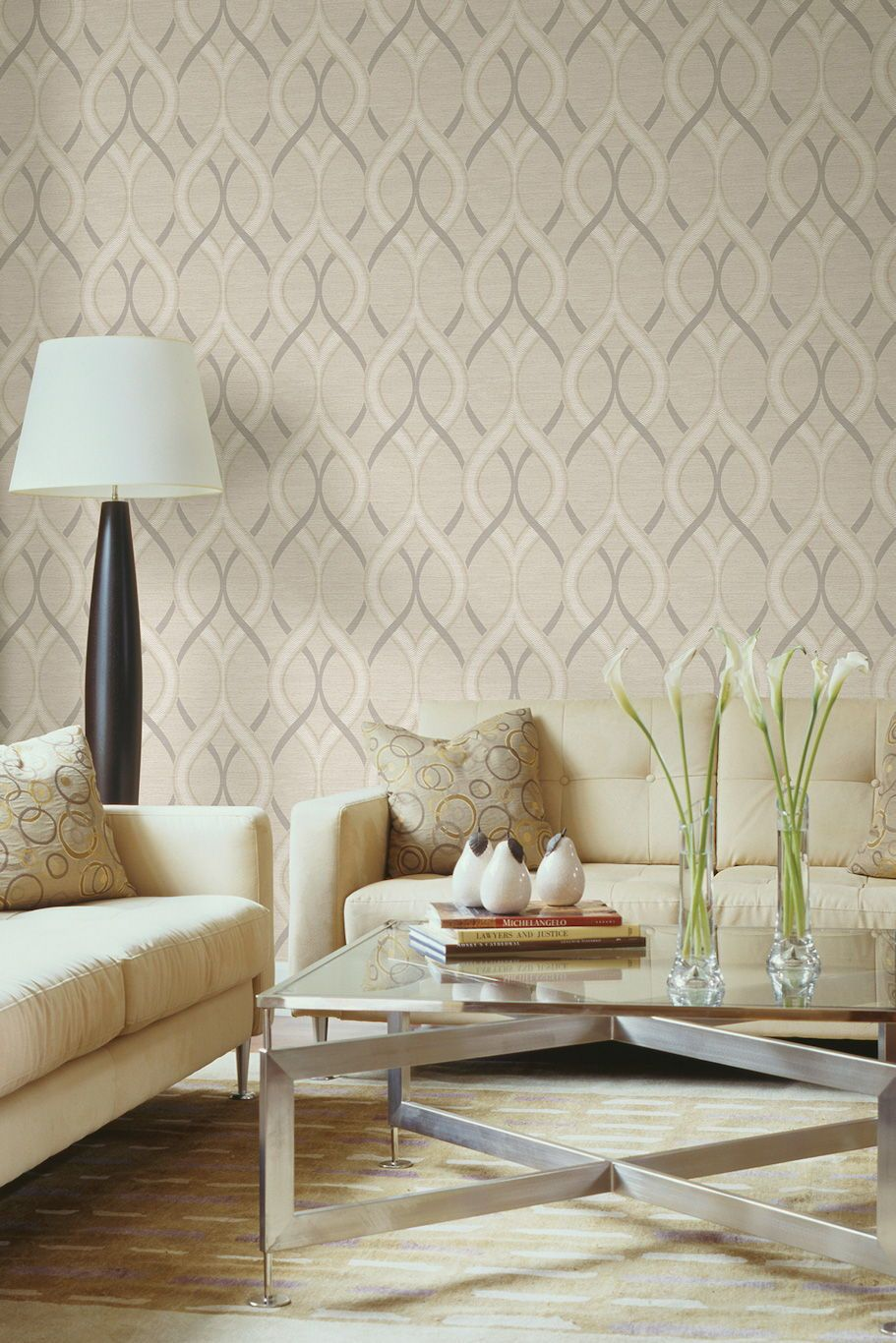 Frequency Wallpaper Design From The Albany Symmetry Collec
