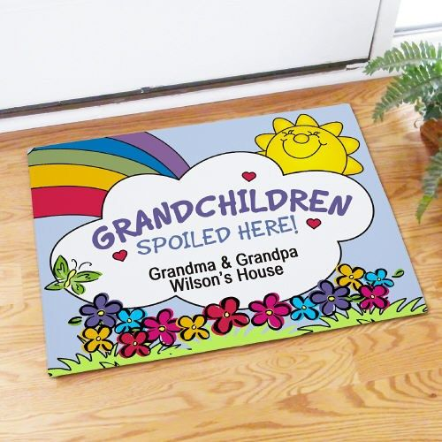 Grandparentsday Grandchildren Spoiled Here Personalized