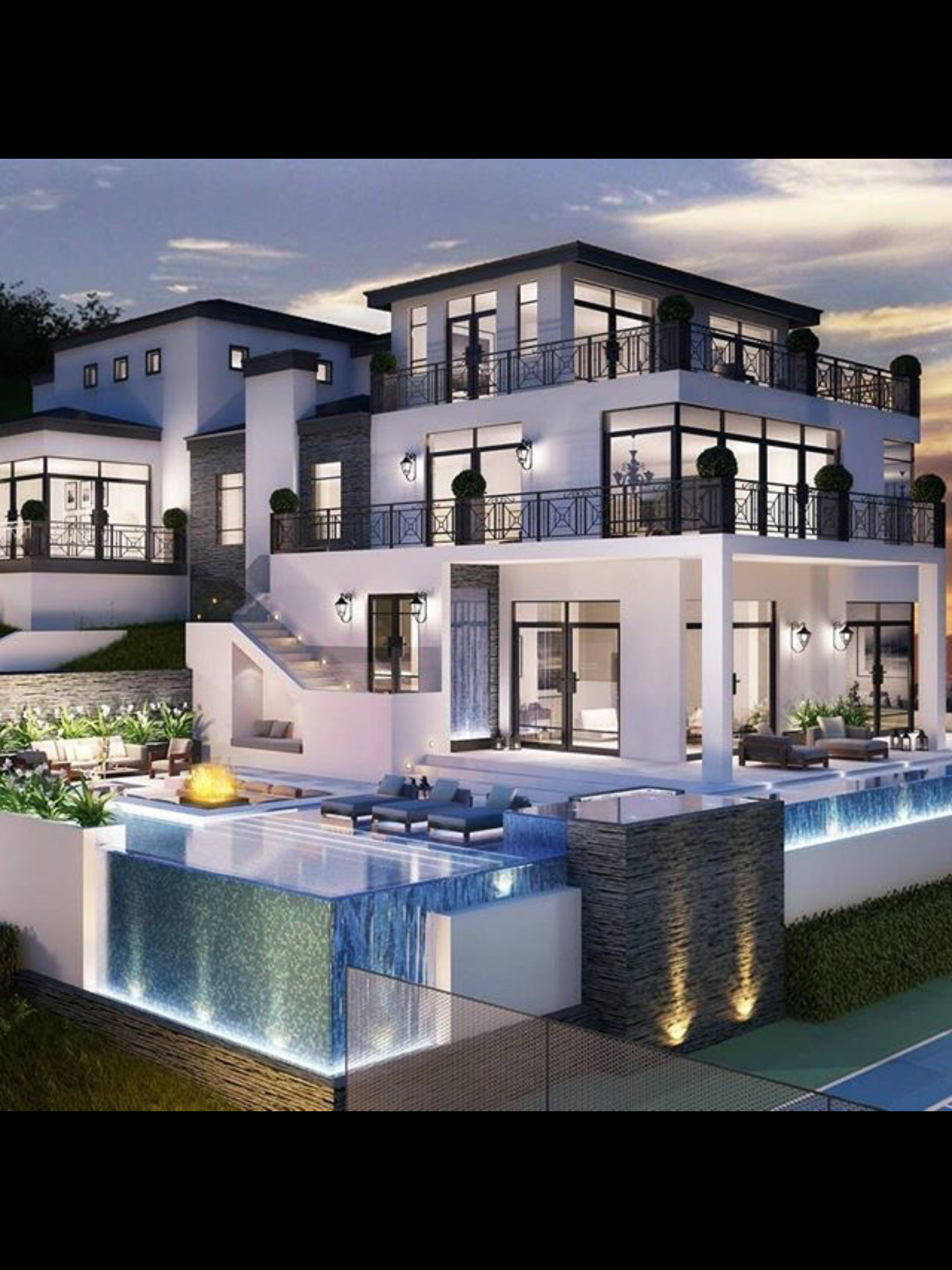 54 stunning dream homes mega mansions from social media modernmansionhouse