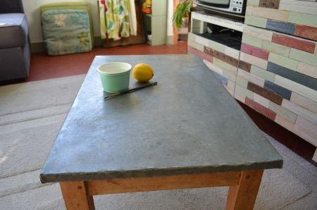 Conseils Déco De Table Zinc Deco De Table Tables De Cuisine Et - Meuble cuisine bois et zinc pour idees de deco de cuisine
