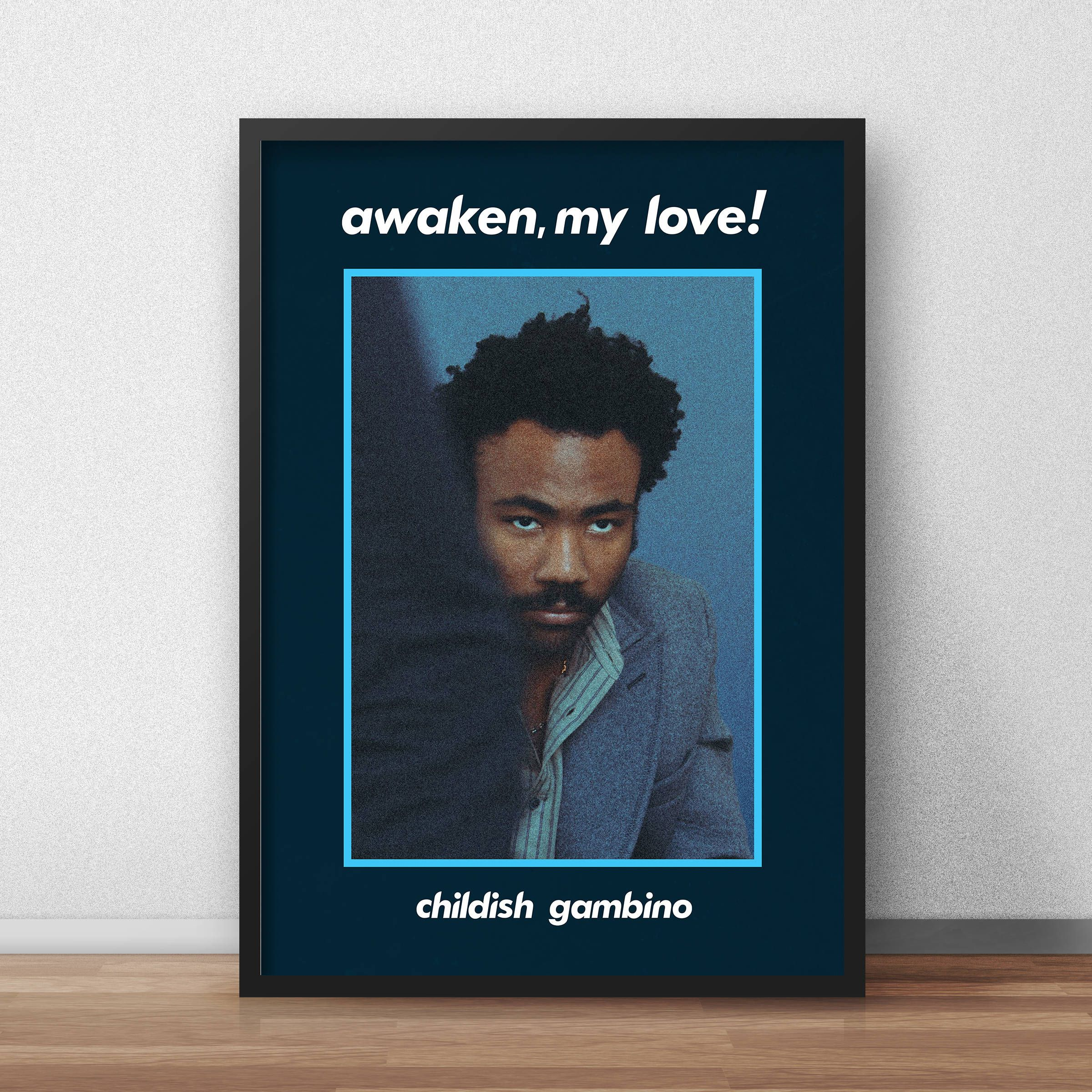 cac715bd857e Childish Gambino Poster, Donald Glover Poster, Childish Gambino, Awaken My  Love Poster, Gambino Print, Childish Gambino Merch, Bino by PrintoutDesign  on ...
