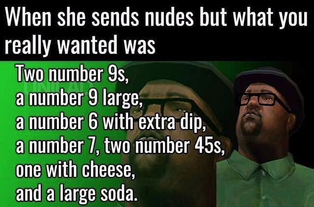25 Best Memes About Gta San Andreas Big Smoke Order Gta San